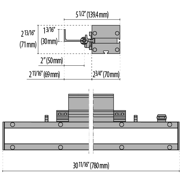 Tech Design STRIP SQUARE+ 780 A/M
