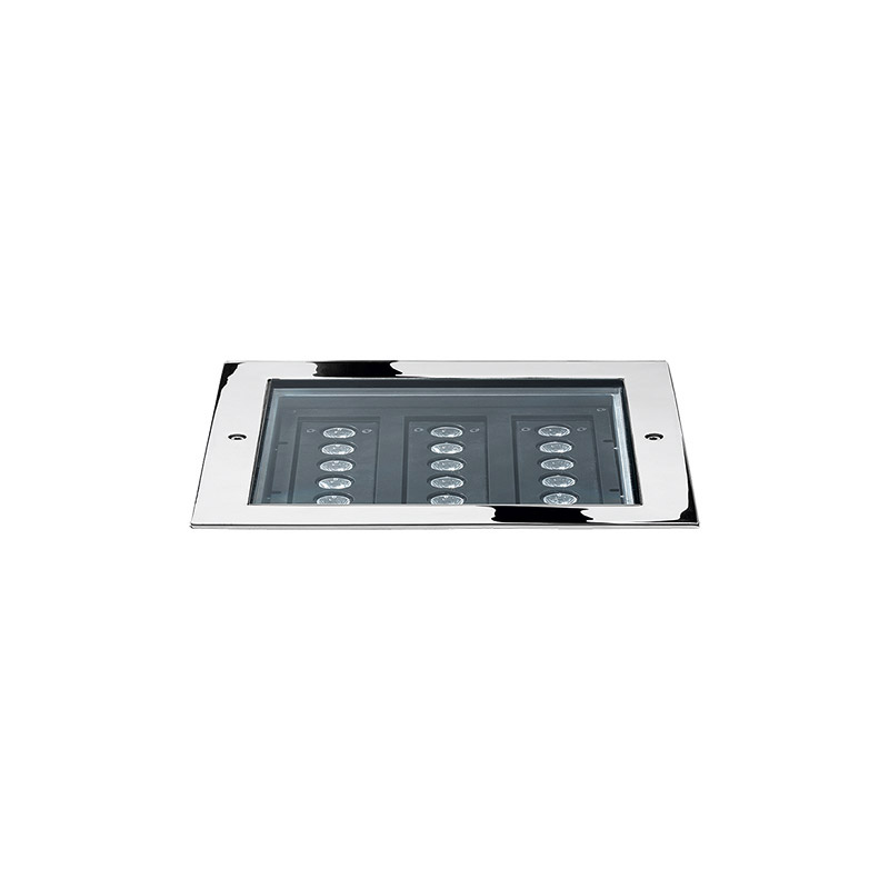 STEEL SQUARE 28 - 18 LED I 8°
