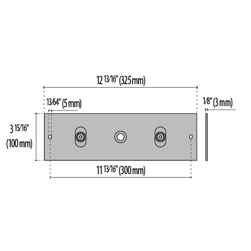 4-inch Tall Accessory Plate
