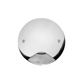 STEEL ROUND COMPACT LED 90°